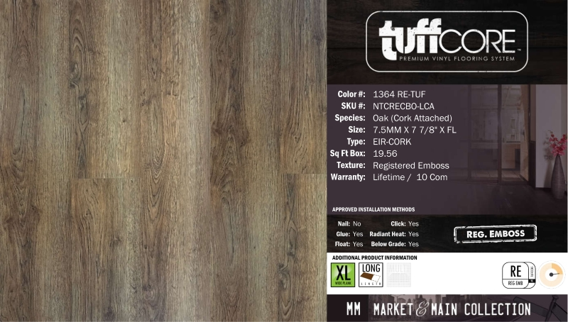 1364 Re Tuf Oak Quality Wood Floors Quality Distribution